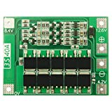BIlinli 3S 40A Li-ion Lithium Battery Charger Lipo Cell Module PCB BMS Protection Board For Drill Motor 12.6V...
