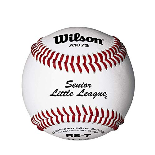 Wilson Youth League and Turnier Baseballs, A1072, SST, Senior Little League, Turnier (EIN Dutzend)
