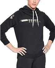 Under Armour Women's Favorite Fleece Camo Logo Pullover Hoodie