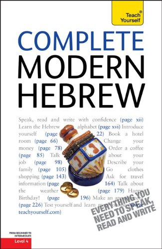 Complete Modern Hebrew: A Teach Yourself Guide (Teach Yourself Language)