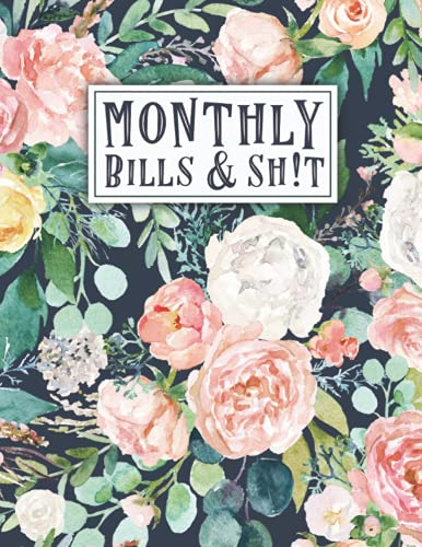 Monthly Budget Planner: An Debt Tracker For paying Off Your Debts | 8.5' X 11' | 24 Months of Tracking | 100 Pages (Debts + Budgeting Vol)