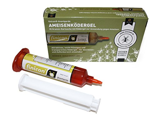 Köder-Discount Ameisenködergel 35g. Zur Anwendung gegen Ameisen im Innen- und Außenbereich. Sehr attraktiver und leicht flüssiger Ameisenköder. Ameisengift.
