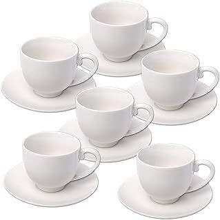 Bianco Confezione da 12 Olympia Y111/Whiteware Espresso Cup