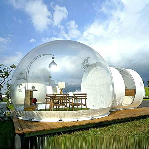 DYRABREST 3M Inflatable Bubble Camping Tent Commercial GradeTwo Room PVC...