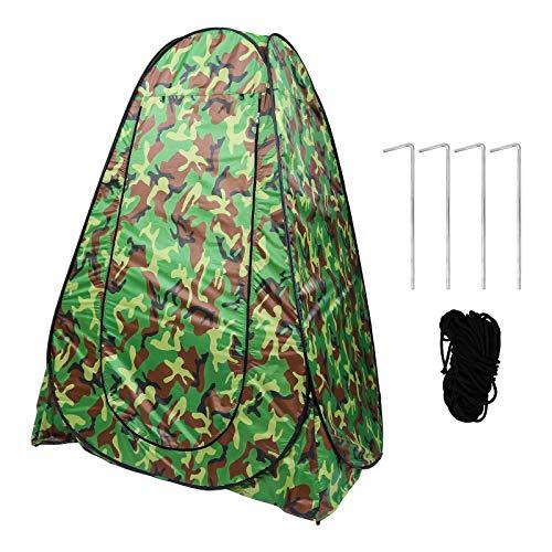 Abaodam Tienda de campaña al aire libre cambiante automático ropa tienda móvil WC TentProduct