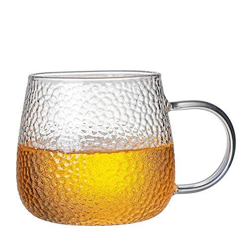 BBTY 400 ml Mango Taza de té Espresso es Muy Adecuado para café Latte Taza de café Taza de café Taza de Desayuno Cappuccino Taza Taza Taza Leche Taza de té Jugo o Bebida Caliente (Color : A)