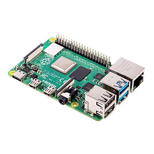 Raspberry Pi 4 Model B Board 4GB ARM-Cortex-A72 4X 1,50GHz, 4GB RAM, WLAN-ac, Bluetooth 5, LAN, 4X USB, 2X Micro-HDMI (nur Board)