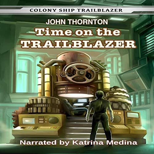 Time on the Trailblazer audiobook cover art