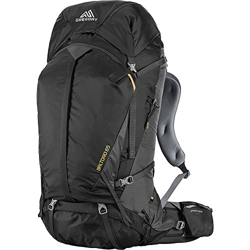 Gregory Mountain Products Baltoro 65 Liter Men's Backpack, Shadow Black, Large