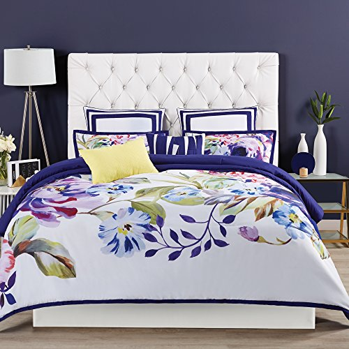 Lowest Prices! 3 Piece King, Lovely Vibrant Classic Floral Pattern Comforter Set, Traditional Modern...