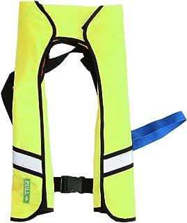 Fdrirect Colete salva-vidas inflável automático Colete salva-vidas portátil de pesca Colete Boca Soprando superflutuante p...