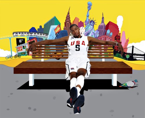 Kevin Durant OKC Thunder Basketball Limited Print Photo Poster 24x36 #5