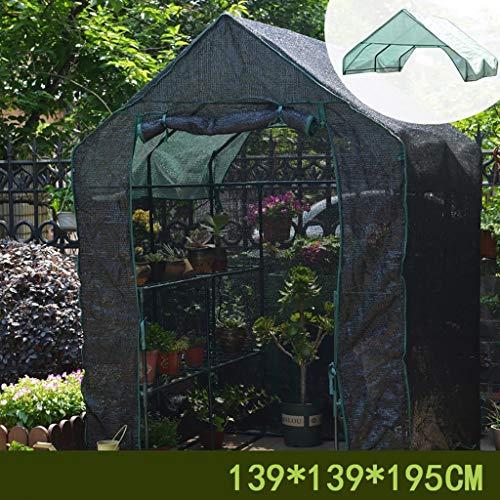 Serres Jardin, Jardin des Plantes D'extérieur Maison Verte, avec Roll Up Porte for Le Contrôle De La Température for L'intérieur Extérieur Herb Flower Garden Balcon