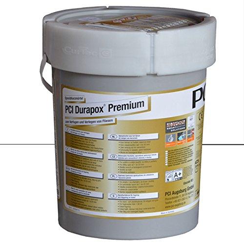 PCI Durapox Premium Reaktionsharz-Mörtel 5kg Eimer, Brillantweiß