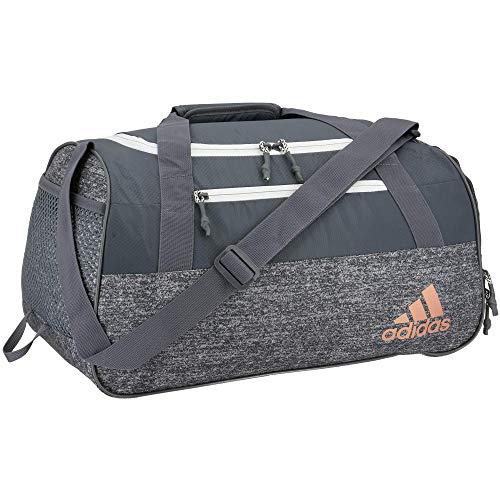 adidas Squad Duffel Bag, Borsone Donna, Maglia Onix/Onix/Oro Rosa, Taglia unica