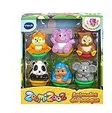 VTech Zoomizooz Set de 6 animales Bosque, color (3480-439022) , color/modelo surtido