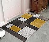 Felpudo de Entrada,Cuadrado de Color 100x120cm,Alfombra de Puerta...