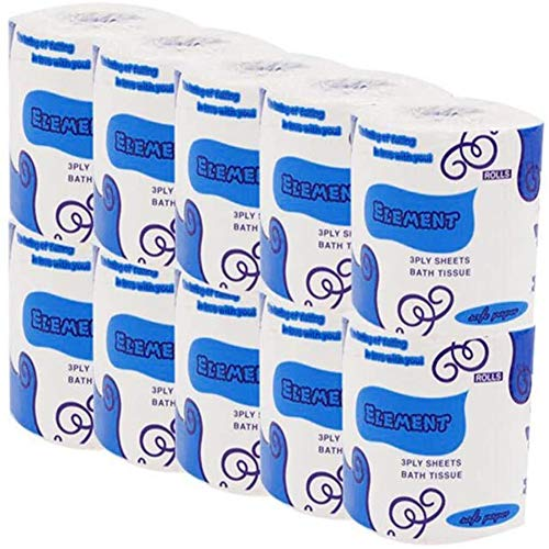Price comparison product image Professional Strong Soft Toilet Paper (White1)