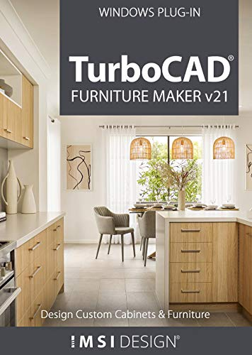 TurboCAD Furniture Maker v21 [PC Download]