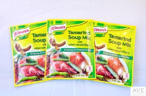 Knorr Tamarind Soup Mix (Sinigang sa Sampalok Mix), 1.41oz (40g) (3)