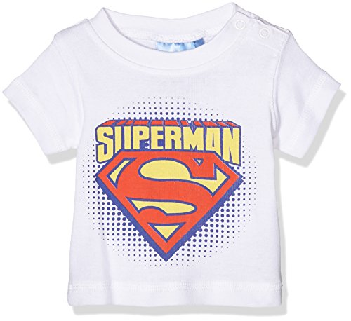 Twins Superman 1 127 79-Camiseta Bebé-Niños Weiß (weiss 4013) 2 mes