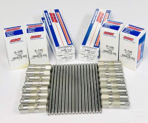 Elgin Industries (Elgin, IL USA) Pushrod & Lifter Set compatible with 1999-2016 GM LS1 LS3 4.8L 5.3L 5.7L 6.0L 6.2L Non-AFM Engines Pushrod & Lifter Set LS