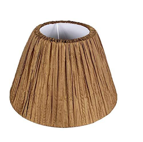 C-J-H Lámpara de Tela de Tela de Pantalla Lámpara de Mesa Cubierta Protectora Decoración del hogar,40CM
