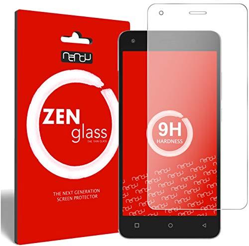 ZenGlass [2 Stück Flexible Glas-Folie kompatibel mit Archos 50b Cobalt Lite Panzerfolie I Bildschirm-Schutzfolie 9H