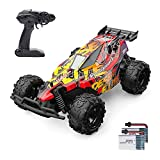 Holyton RC Cars, Remote Control Car 20 KM/H High Speed 2.4GHz 1:22 Scale Buggy, 60 Min Play 2 Rechargeable Batteries, All Terrain, Off Road Car Ready to Race 2WD, Toys for Boys, Xmas Gifts