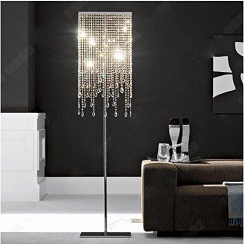 Stehlampe Europäischen Stil Kristall Stehleuchte Schlafzimmer Einfache Moderne Wohnzimmer Stehleuchte Vertikale Beleuchtung Kreative Amerikanische Licht Wohnzimmer