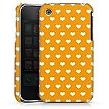 DeinDesign Coque Compatible avec Apple iPhone 3Gs Étui Housse Petit C½ur Motif Orange