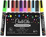 Best Blackboard Markers - Fine Tip Chalk Markers (10 Pack 3mm) Review