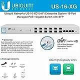 Ubiquiti US-16-XG UniFi Enterprise 16-Port Managed PoE+ Gigabit Switch with