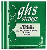 GHS RB1600 Jeu de cordes pour Guitare Resonator Roller Wound Bright Bronze
