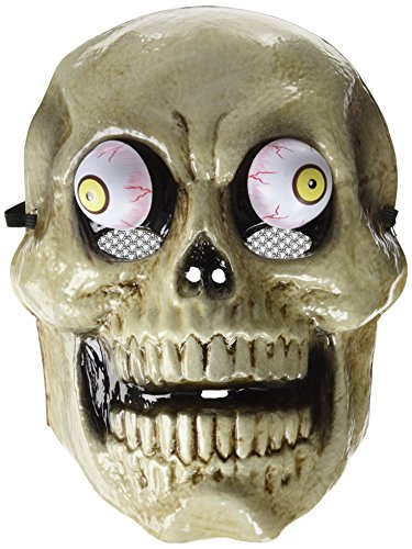 Rubie 's - Mascara Skull met wiebelogen, eenheidsmaat (S5131)