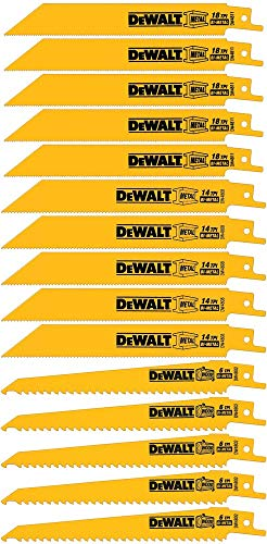 DeWalt Reciprocating Saw Blade Set