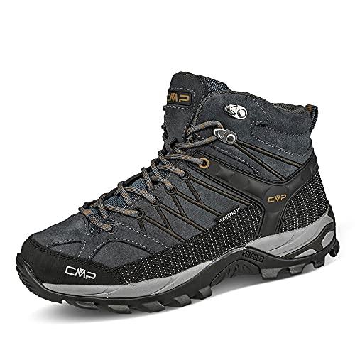 CMP Herren Trekkingstiefel Rigel Mid Trekking Shoe WP Übergröße Antracite/Arabica - 48