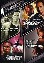 Extreme Action: 4 Film Favorites - Eraser / The Last Boy Scout / Passenger 57 / Point Of No Return [Import]