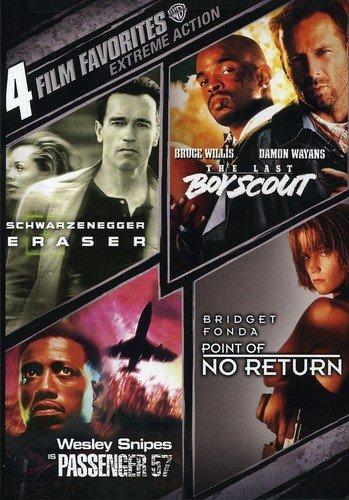 4 Film Favorites: Extreme Action (Eraser, The Last Boy Scout, Passenger 57, Point of No Return)