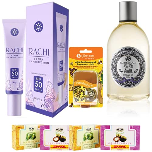 Set A55 Rachi Sunscreen High quality Mail order cheap Extra Protection Bath SPF Bloom
