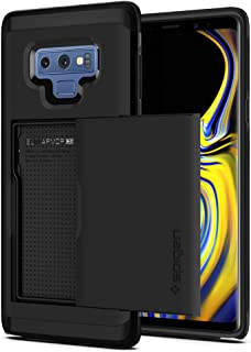 Spigen Slim Armor CS Card Slot wallet designed for Samsung Galaxy Note 9 case/cover - Black