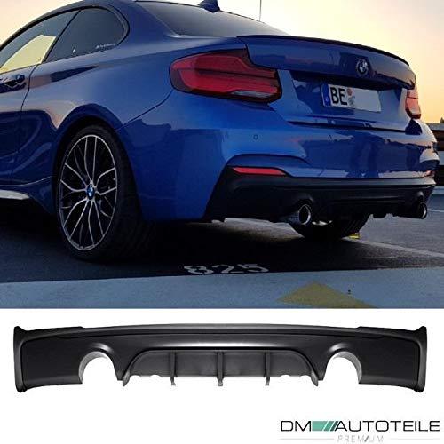 DM Autoteile Sport-Performance Heckdiffusor Rohr Links Rechts passend für F22 F23 235 240