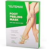 2 Pairs Foot Peel Mask Exfoliant for Soft Feet, Exfoliating Booties for Peeling Off Calluses & Dead Skin, For Men & Women…