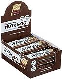 Nutramino Nutra-Go Protein Wafer/Proteinriegel (Low Sugar in Waffelform, 18% Eiweiß, wenig Zucker) Chocolate, 1er Pack (12x39g) -