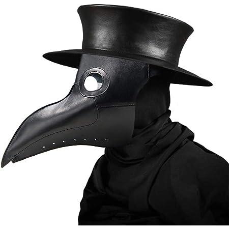 Halloween Effrayant Masque Peste Oiseau Docteur Nez Cosplay Fantaisie Gothique Steampunk R/étro Rock Masque Oiseau Masque de p/âques UMIWE Peste Docteur Masque