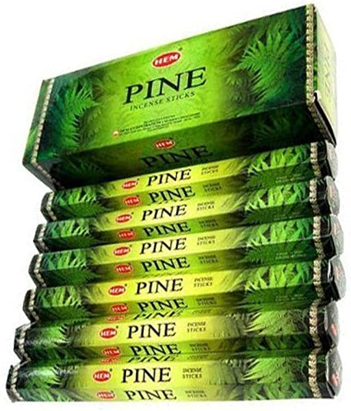 Hem Pine Incense Stick 20 Sticks Each 6 Pack
