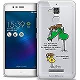 Caseink - Coque Housse Etui pour ASUS Zenfone 3 Max ZC520TL (5.2) [Licence Officielle Collector Les...