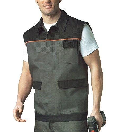 TT Arbeitsweste Weste Arbeitsjacke viele Taschen Berufsweste Arbeitskleidung (XXL (58), 0764100)