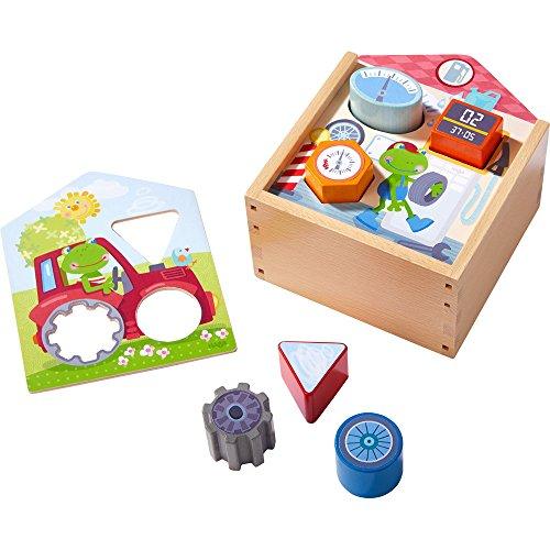Haba 303390 - Sortierbox Ab in die Werkstatt, Spiel