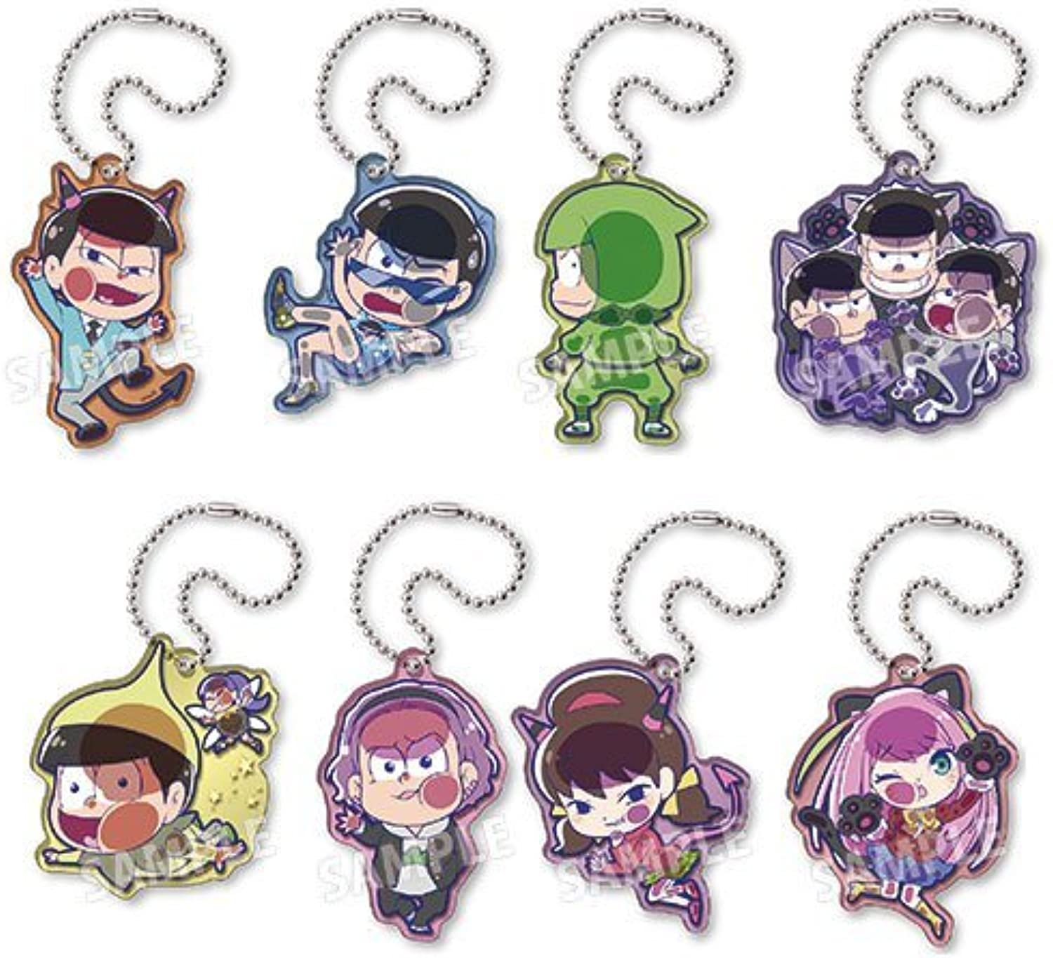 Pita  In the Information Osomatsu's Variety Pack acrylic key chain 9 pieces BOX